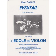 CARLES M. EVENTAIL VIOLON