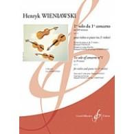 WIENIAWSKI H. 1ER CONCERTO 1ER MOUVEMENT VIOLON