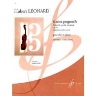 LEONARD H. SOLOS PROGRESSIFS OP 62: SOLO A EN LA MINEUR ALTO