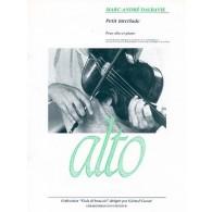 DALBAVIE M.A. PETIT INTERLUDE ALTO