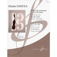 DANCLA C. SOLOS DE CONCERTO: OP 141 N°1 EN UT MAJEUR ALTO