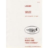 DELERUE G. SONATE TROMPETTE