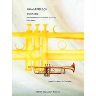 HERBILLON G. SONATINE TROMPETTE EN UT SOLO