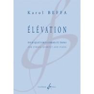 BEFFA K. ELEVATION QUATUOR A CORDES ET PIANO