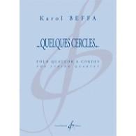 BEFFA K. QUELQUES CERCLES QUATUOR A CORDES