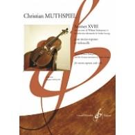 MUTHSPIEL C. SONNET XVIII MEZZO-SOPRANO ET VIOLONCELLE