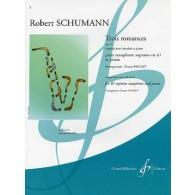 SCHUMANN R. ROMANCES OP 94 SAXO SIB