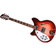 RICKENBACKER 360L-FG GAUCHER ROUGE DEGRADE