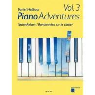 HELLBACH D. RANDONNEES SUR LE CLAVIER VOL 3 PIANO