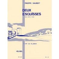 GAUBERT P. ESQUISSE N°1 SOIR SUR LA PLAINE FLUTE