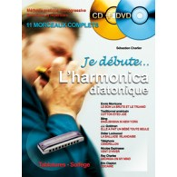 CHARLIER S. JE DEBUTE L'HARMONICA DIATONIQUE DVD