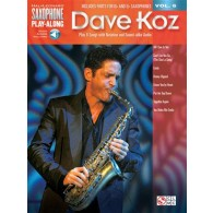 SAXOPHONE PLAY ALONG VOL 6 DAVE KOZ SAXO EB BB