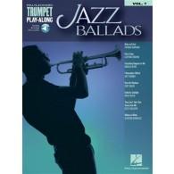 HAL LEONARD TRUMPET PLAY-ALONG VOL 7: JAZZ BALLADS TROMPETTE