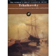 TCHAIKOVSKY WORLD'S GREAT CLASSICAL MUSIC INTERM. TO ADV. PIANO SOLO