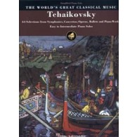 TCHAIKOVSKY WORLD'S GREAT CLASSICAL MUSIC SIMPLIFIED PIANO SOLO