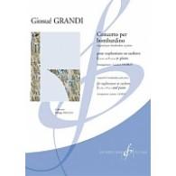 GRANDI G. CONCERTO PER BOMBARDINO EUPHONIUM OU SAXHORN
