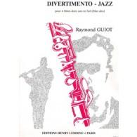 GUIOT R. DIVERTIMENTO-JAZZ FLUTES