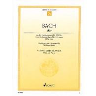 BACH J.S AIR DE LA SUITE EN RE BWV 1068 FLUTE