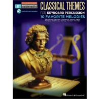 EASY INSTRUMENTAL PLAY-ALONG: CLASSICAL THEMES PERCUSSIONS A CLAVIERS