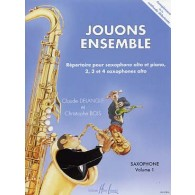 DELANGLE C. /BOIS C. JOUONS ENSEMBLE VOL 2 SAXOS