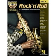SAXOPHONE PLAY-ALONG VOL 1 ROCK'N'ROLL SAXO EB OU BB
