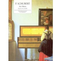 SCHUBERT F. AVE MARIA OP 52 N°6 PIANO