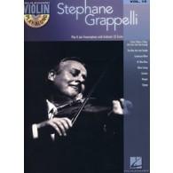 VIOLIN PLAY-ALONG VOL 15 GRAPPELLI STEPHANE VIOLON
