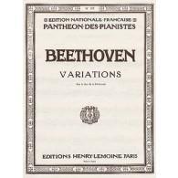 BEETHOVEN L.V. VARIATIONS SUR LE DUO DE LA MOLINARA PIANO