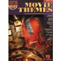 VIOLIN PLAYALONG VOL 31 MOVIE THEMES