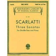 SCARLATTI A. SONATAS CONTREBASSE