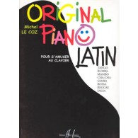 LE COZ M. ORIGINAL PIANO LATIN