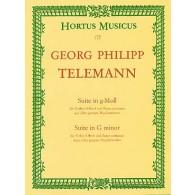 TELEMANN G.P. SUITE SOL MINEUR VIOLON
