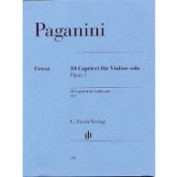 PAGANINI N. 24 CAPRICES OP 1 VIOLON