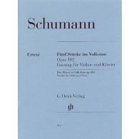 SCHUMANN R. STUCKE IM VOLKSTON VIOLON