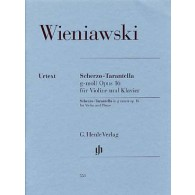 WIENIAWSKI H. SCHERZO TARANTELLA OP 16 VIOLON
