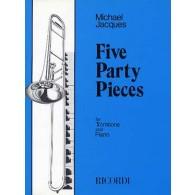 JACQUES M. FIVE PARTY PIECES TROMBONE