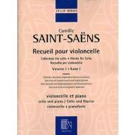 SAINT-SAENS C. RECUEIL POUR VIOLONCELLE VOL 1