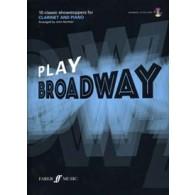 PLAY BROADWAY CLARINET