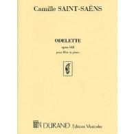 SAINT-SAENS C. ODELETTE OPUS 162 FLUTE