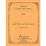 MEUNIER G. LA BONNE HUMEUR FLUTE