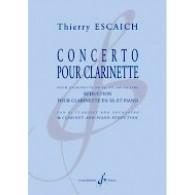 ESCAICH T. CONCERTO CLARINETTE