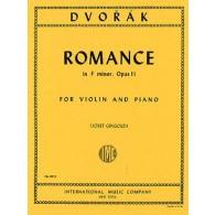 DVORAK A. ROMANCE OP 11 VIOLON