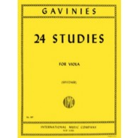 GAVINIES P. 24 ETUDES ALTO