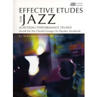 CARUBIAN/JARVIS EFFECTIVE ETUDES FOR JAZZ GUITAR