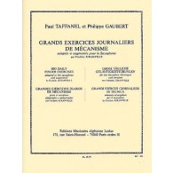 TAFFANEL P./GAUBERT P. GRANDS EXERCICES JOURNALIERS SAXO