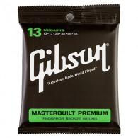 JEU DE CORDES ACOUSTIQUE GIBSON SAG-MB13 13/56 MASTERBUILT PREMIUM MEDIUM