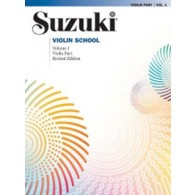 SUZUKI VIOLIN SCHOOL VOL 1