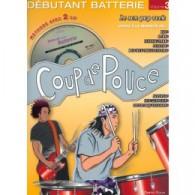 ROUX D./BIELLO S. COUP DE POUCE VOL 3 BATTERIE