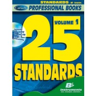 PROFESSIONAL BOOKS 25 STANDARDS VOL 1 BB INSTRUMENTS