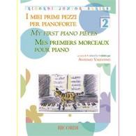 MES PREMIERS MORCEAUX PIANO VOL 2